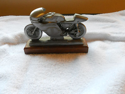 HD Super Rare Pewter Replica 1955 KR-750  Road Racer FREE SHIPPING.