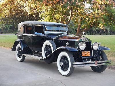 1930 Rolls-Royce Phantom  1930 Rolls Royce Phantom I Trouville Antique Vintage Classic Automobile