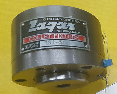 Zagar Collet Fixture, Model 791-50, 3C Collets, Fixed Postion,(1 of 2)