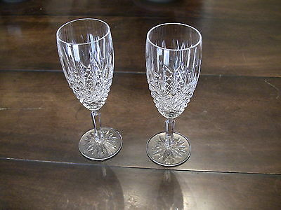Waterford Crystal BALLYBAY Champagne Flutes / Set of 2