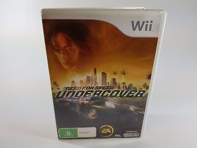 Need For Speed Undercover | Nintendo Wii | Pal | Complete