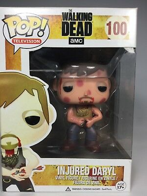 Funko Pop TV: The Walking Dead - Injured Daryl 100 Vinyl Figure
