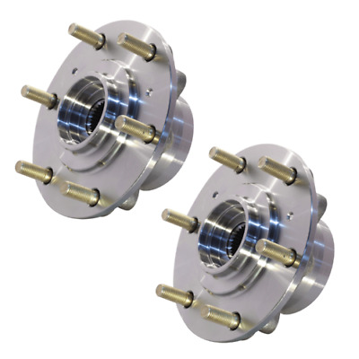 Two Front Wheel Bearing Hubs Mitsubishi Triton 4Wd 4X4 Ml Mn Challenger Pb Pc