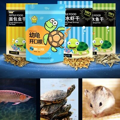 Turtle Terrapin Food Feed Sticks Granules Dried Fish Shrimp Aquarium Fish Food