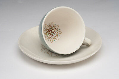 """Royal Doulton """"Desert Star"""" Coffee or Espresso Cup and saucer - Excellent cond"""