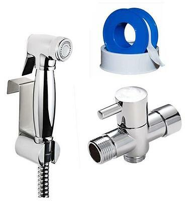 Bathroom Toilet Brass Handheld Diaper Sprayer Shower Bidet Sprayer Shattaf set