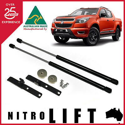 Holden RG Colorado & 7 year 2012-17 Bonnet Gas Struts Dampers Lift Support