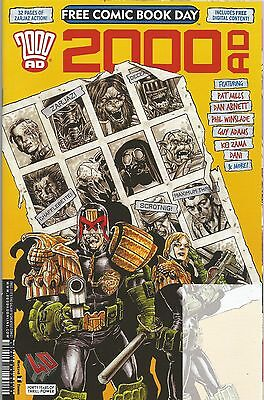 2000AD (FCBD 2017) Judge Dredd / Anderson / Death (US Sized Special)