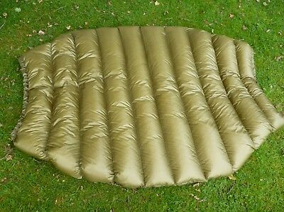 Full length ! 850-900  Down hammock under quilt blanket 6 foot long