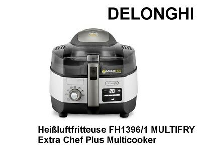 DELONGHI Heißluftfritteuse FH1396/1 Extra Chef Plus