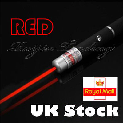 1mW POWERFUL RED LASER LAZER POINTER PEN HIGH POWER PROFESSIONAL 532nm  UK STOCK