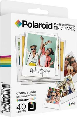 Polaroid - POP Instant Print Paper (40-Pack) - White
