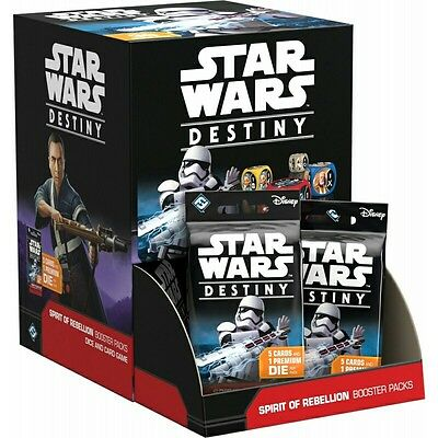 Star Wars Destiny - Spirit of the Rebellion Booster Box (36 Packs) In Stock A4