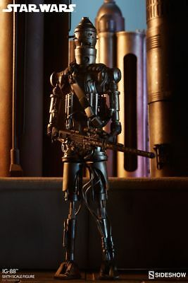 STAR WARS Imperial IG-88 Sixth Scale Aktion Figur Sideshow Collectibles