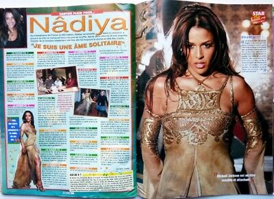 NADIYA => COUPURE DE PRESSE 2 pages 2006 //  FRENCH CLIPPING
