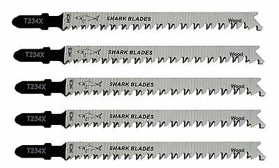 Shark Blades Jigsaw Blades T234X Clean Cut Bayonet Fit Professional Quality