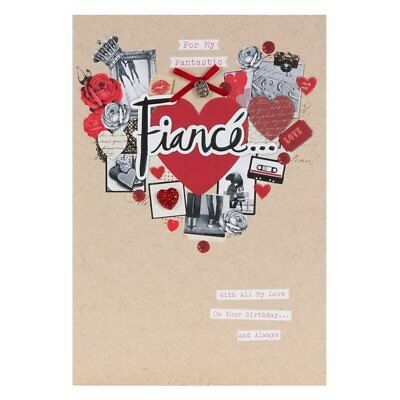 Hallmark Birthday Card For Fiance My Friend My Love Medium 471