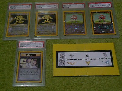 COMPLETE RARE Pokemon Best Of Game promo set MINT - ALL 15 CARDS PSA 9 or 10