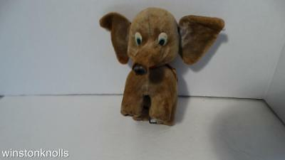Antique Circus Elephant Ears And Head Moves