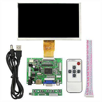 7inch Raspberry Pi 3 LCD TFT Display 1024*600  HDMI VGA Monitor Screen Kit