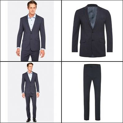 New Oxford NEW HOPKINS SUIT JACKET BLUE X WITH MATCHING TROUSERS