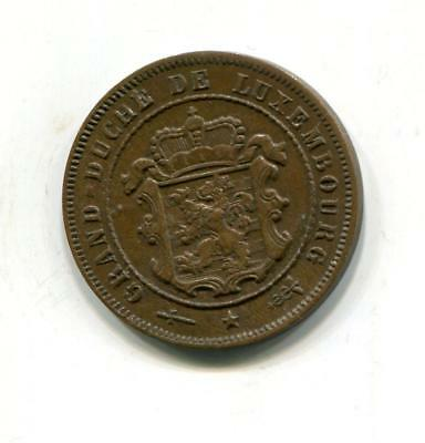 Luxembourg 1908 2 1/2 Cents