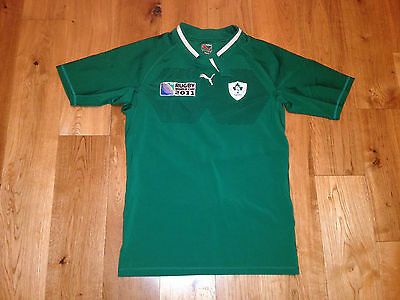 Ireland Rugby Player Shirt Jersey World Cup 2011 Puma - Tight Fit