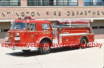 Fire Apparatus Slide, Hose-Unit, Huntington / NY, 1963 American LaFrance