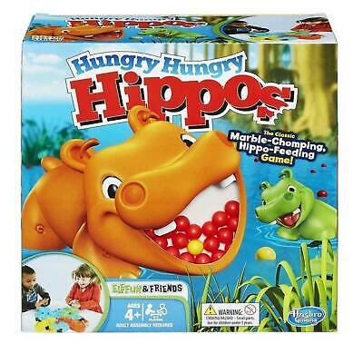 Hungry Hungry Hippos Classic Childrens Family Board Game by Hasbro
