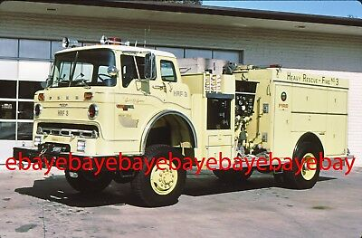 Fire Apparatus Slide, Heavy Rescue 3, OES / CA, 1981 Ford C 4x4