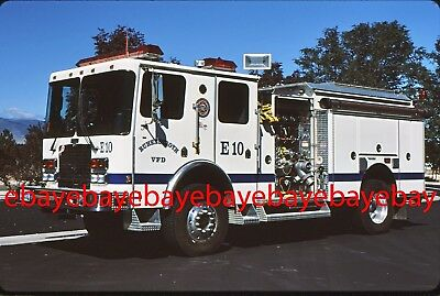 Fire Apparatus Slide, Engine 10, Ruhenstroth / NV, 1996 HME 4x4
