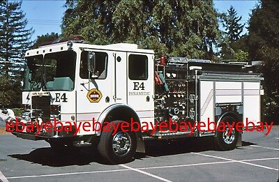 Fire Apparatus Slide, Engine 4, Santa Clara Co FD / CA, 2001 HME 4x4