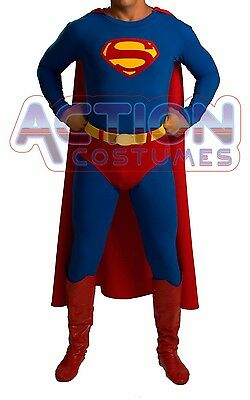 Superman Costume & Boots 50´s Style