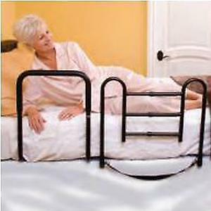 Carex Easy Up Bed Rail Case of 2 *GREAT VALUE PACK!*