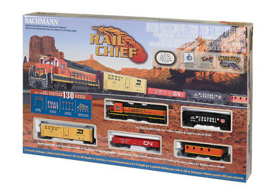 Bachmann HO Rail Chief Electric Train Set 00706 BAC00706