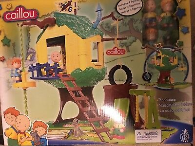 Caillou Treehouse Complete New In Box!!!