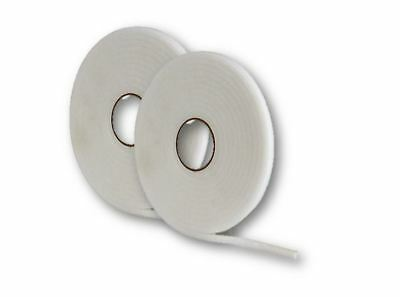 2x 5m Energy Saving Door and Window Foam Draught Seal Excluder Tape Adhesive