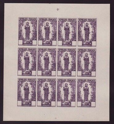 Congo Woman Bakalois Layer of 12 without value Purple