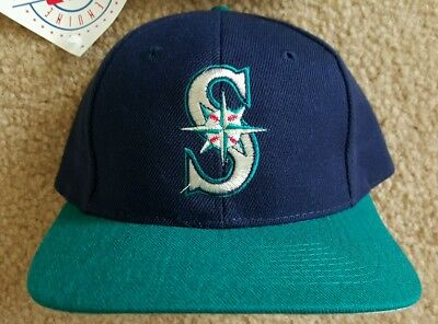 Seattle Mariners Vintage 90s Snapback hat MLB Tags Twins Enterprise  DEADSTOCK 70c826f35cf5