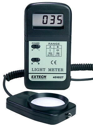 Extech 401027 Light Meter Foot Candle