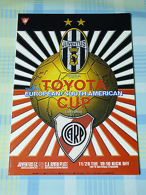 Juventus v River Plate 1996 FIFA Toyota Club World Cup Program