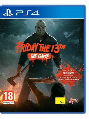 Videogioco Friday The 13Th Ps4 Play Station 4 Gioco Multilingua Ita Venerdi 13