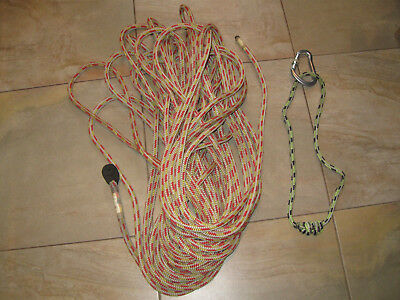 Tree Surgeons Rope Rock Climbing Arborist Friction Hitch Carabinier Spliced End