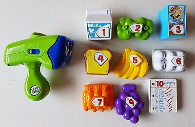 Leap Frog Count and Scan Shopper Toy Music Replacement Grocery Learning Talking