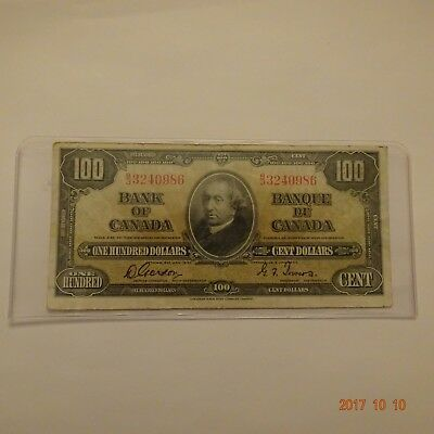 1937 $100.00 BJ 3240986  Gordon-Towers