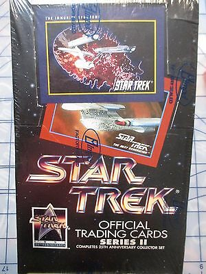 STAR TREK 25th Anniversary SERIES 2 Trading Card Sealed Box 36 Packs Impel 1991