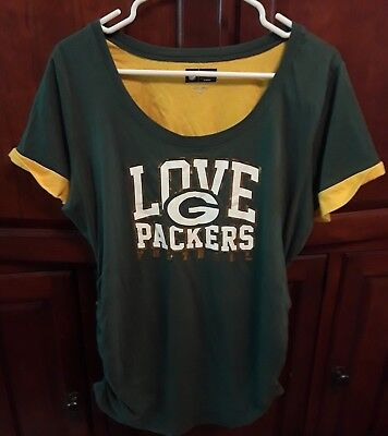 NFL Grwwn Bay Packers Size xl maternity NWT