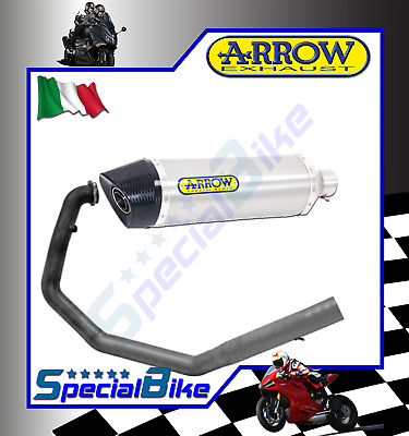 Scarico Completo Ktm 690 Sm 2006 > 2012 Arrow Race Tech Alluminio Carby No Kat