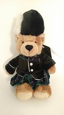 """Harrods Piper Bean Bear 8"""" New with Tag"""