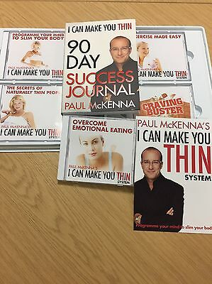 Paul McKenna I Can Make You Thin - Book & 5 CDs - Brand New - Sealed In Box!